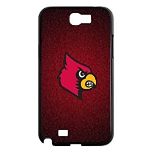 Customize NCAA Basketball Team Louisville Cardinals Back Cover Case for Samsung Galaxy Note 2