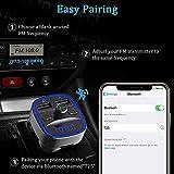 Bovon Bluetooth FM Transmitter for Car, Bluetooth
