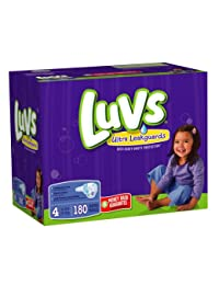 Luvs With Ultra Leakguards Size 4 Diapers 180 Count BOBEBE Online Baby Store From New York to Miami and Los Angeles