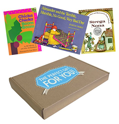 The Perfect Gift for Kids 4-8 Who Love Picture Books: Chicka Chicka Boom Boom; Strega Nona; Alexander and the Terrible, Horrible, No Good, Very Bad Day