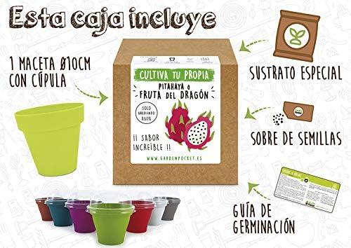 Garden Pocket - Kit Cultivo Pithaya: Amazon.es: Jardín