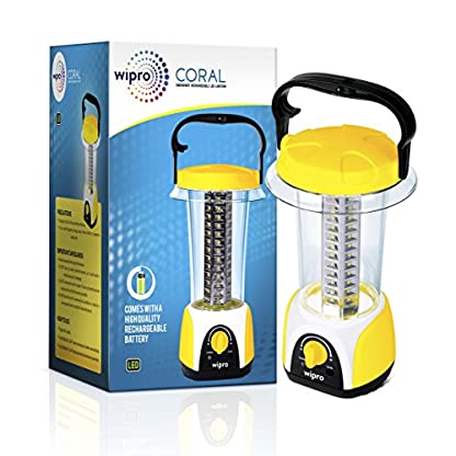 wipro coral rechargeable emergency light