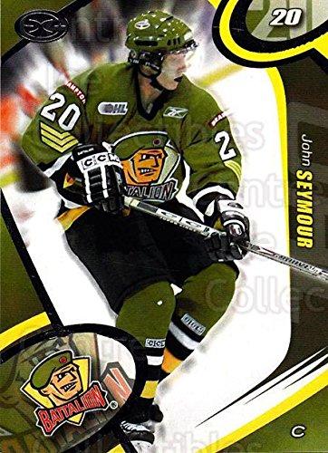 Amazon.com: (CI) John Seymour Hockey Card 2004-05 Brampton Battalion 18 John Seymour: Collectibles & Fine Art