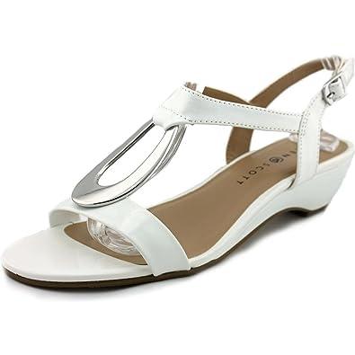 d2d0a9a54a2a08 Karen Scott Womens Carmeyy Open Toe Casual Slingback Sandals