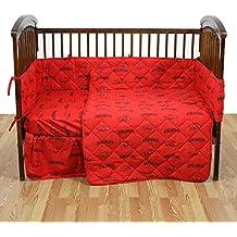 College Covers NCAA Arkansas Razorbacks 5 Piece Baby Crib Set