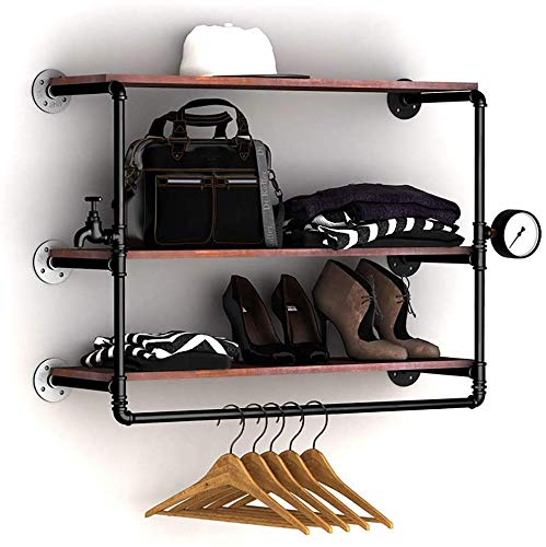 SYHmlxd - Perchero para ropa, estilo industrial, ideal para ...