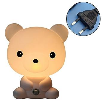 Animal Pr Panda Qiao Lampe Led Table Bébé Euours Lapin Chevet NaitmVeilleuse Nuit Enfant Chambre Lumière 8vN0yOmnw