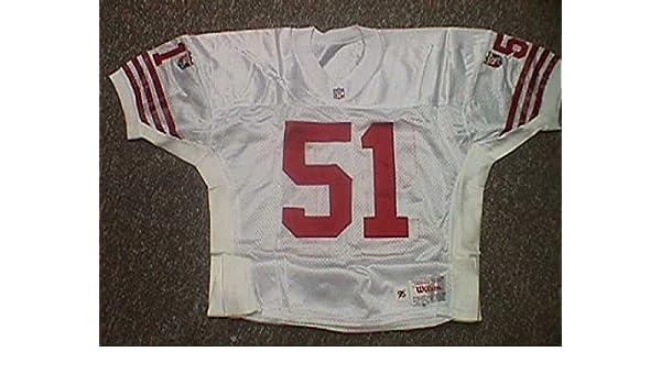 quality design 297b4 44361 Ken Norton Jr. San Francisco 49ers 1995 Game Worn Jersey at ...