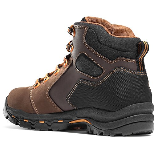 Danner Vicious 4.5 Brown/Orange (13858) Vibram Sole Oil & Slip Resistant | Made In USA Waterproof Gore-TEX (GTX)| Electrical Hazard Boot Leather | Climb Mountains eu59YNv