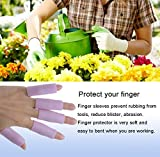 Povihome 10 Pack Finger Sleeve Protector Silicone
