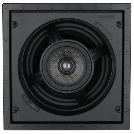 Sonance Visual Performance Series 8' White Square In-Wall Pair Speakers - VP85S
