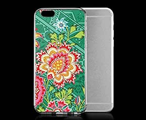 Light weight with strong PC plastic case for iphone 4 4s Artists Amy Butler Heirloom Jade