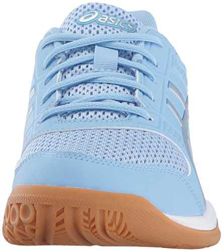 ASICS Women's Gel-Rocket 8 Volleyball Shoe Airy Blue/Silver/White outlet largest supplier HBilw837Nh