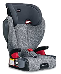 Cruising with your big kid is a breeze when the Highpoint Belt-Positioning Booster is in your backseat. Color-coded vehicle belt guides make it easy to position the vehicle seat belt safely across the upper thighs, while flexible push-button ...