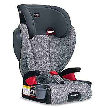 Image of Baby Britax Highpoint Belt-Positioning Booster Seat - 40 to 120 pounds - 3 Layer Impact Protection, Asher