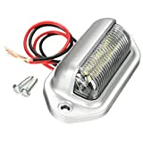 Niome 6 LED 12V Car License Number Plate Tag Light Boat RV Truck Trailer Interior Lamp