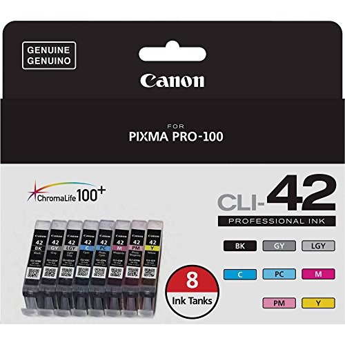 Canon CLI-42 8 PK Value Pack Ink, 8 Pack by Canon