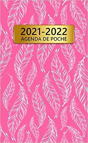 2021 2022 Agenda De Poche: 24 Mois Calendrier Mensuel   Joli