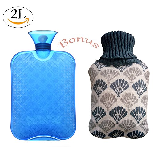 Hot Water Bottle with Sweater