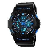 Kids Digital Sports Watch - Boys Waterproof Analog Military Watches With Alarm,Wrist Watch For Children