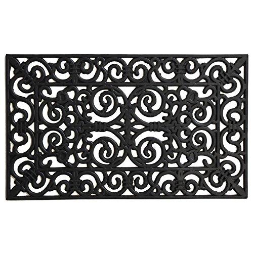 (Calloway Mills 103631830 Gauntlet Rubber Doormat, 18