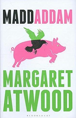 book cover of Maddaddam