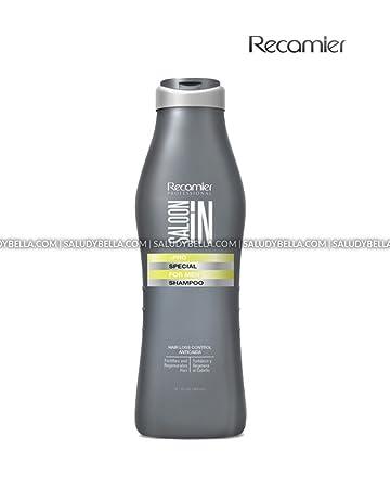 Recamier SalonIn Special Hair Loss Control Shampoo Fortifies And Regenerates Hair Anticaida Fortifica y Regenera el