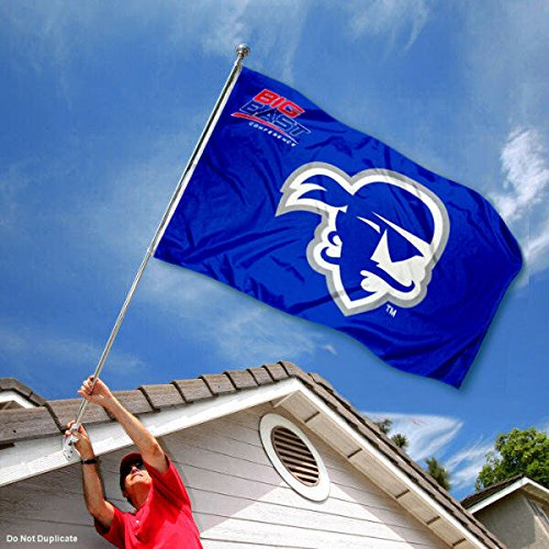 College Flags and Banners Co Seton Hall Pirates Big East Flag