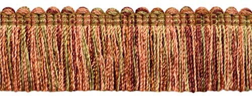 DecoPro Camel Gold, Light Pink, Pumpkin, Terra Cotta 1 1/4