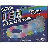 Aqualife LED Aqua- Pool Lounger Multi- Color Lights!/ Pool Floats/Pool Floats for Adults