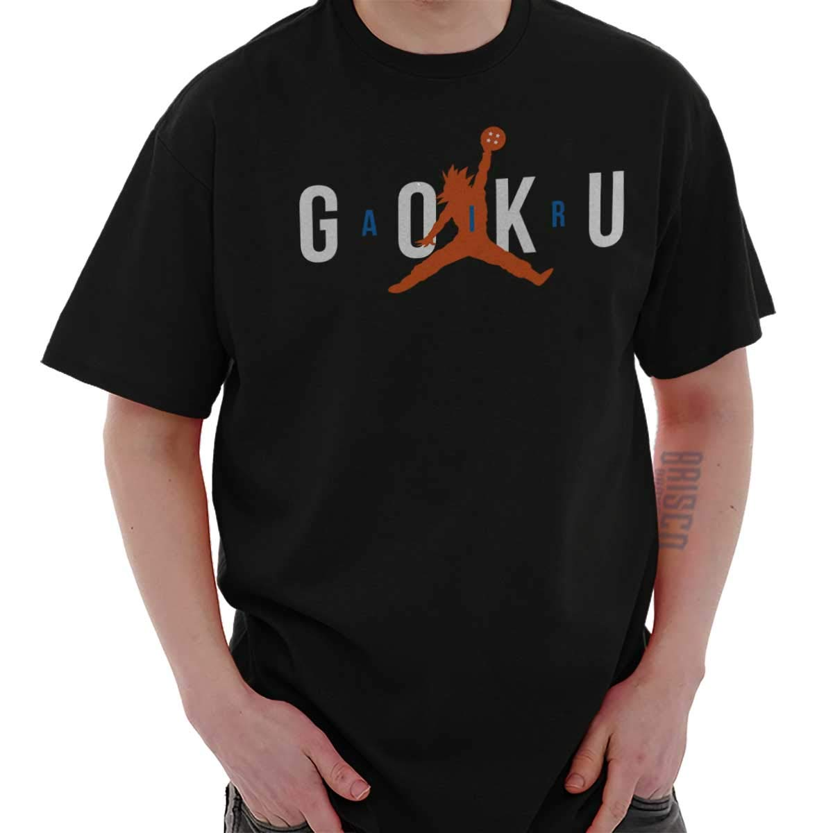 078663357335 Air Goku Dragon Shirt | Ball Z Funny Sports Athletic Clutch T-Shirt Tee by