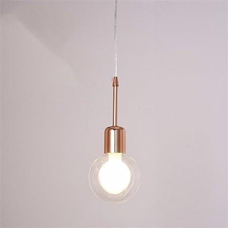 Lámpara de techo colgante,Vidrio Línea pescado NordicPendant ...