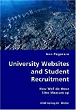 University Websites and Student Recruitment- How Well Do These Sites Measure Up, Ann Pegoraro, 3836418509
