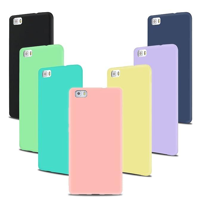 3 opinioni per SpiritSun 7 * Custodia Huawei P8 Lite P8 Lite Cover TPU Case Cover Morbido