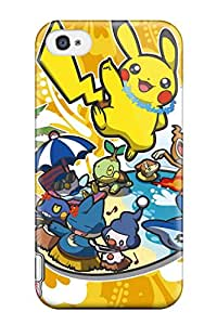 Ideal Laura Jordan Case Cover For Iphone 4/4s(pokemon), Protective Stylish Case