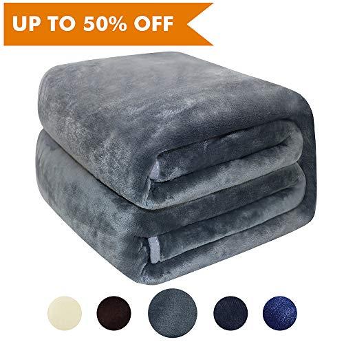 Asmork Flannel Luxury Blanket Ultra Soft Lightweight Thermal
