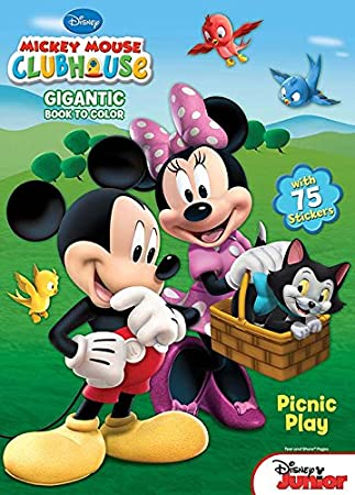 Amazoncom Bendon Mickey Mouse Clubhouse Coloring and Activity