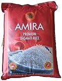 AMIRA Premium Basmati Rice Non Woven Bag, 40 Pound