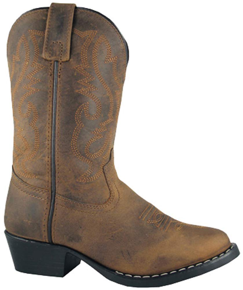 Kids Denver Leather, Oiled Dist Brown, size 3