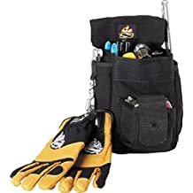"""SetWear Combo Tool Pouch (7.5""""H x 6.5""""W) - Black"""