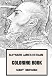 Maynard James Keenan Coloring Book: Tool...