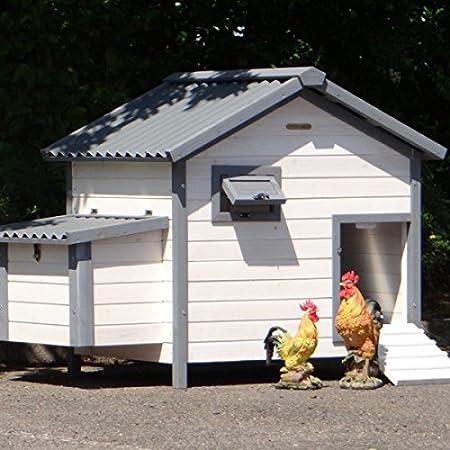 Animalhouseshop De Huhnerstall Lotte Mit Kunststoff Dach Und