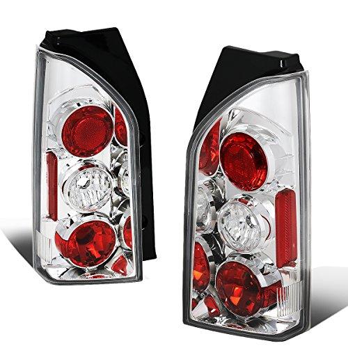 For 2005-2015 Nissan Xterra Chrome Housing Altezza Style Tail Light Brake/Parking/Reverse Lamps - Nissan Xterra Tail Lamp