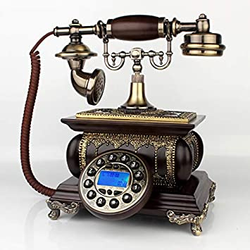 Telefono Fijo Vintageteléfono Antiguo, Teléfono Retro ...