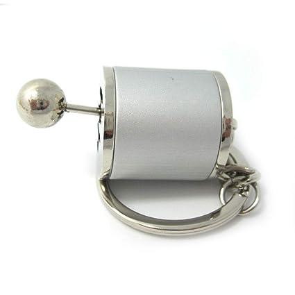 Sulida Llavero de Metal Caja de Cambio de Marcha del Coche 6 ...