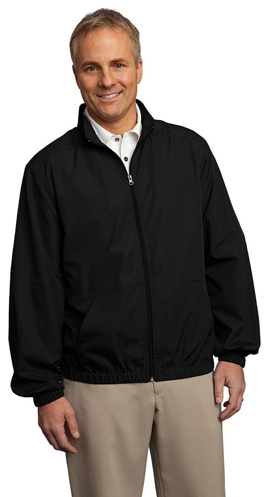 Port Authority Men's Essential Jacket, XX-Large, Black