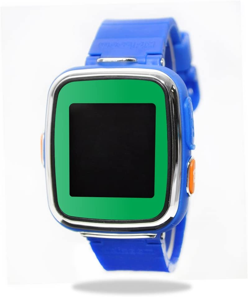MightySkins Skin Compatible with VTech Kidizoom Smartwatch DX wrap Cover Sticker Skins Solid Green