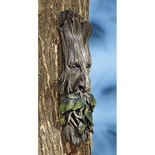 Design Toscano Whispering Wilhelm Tree Ent Wall Sculpture, 15 Inch, Polyresin, Full Color