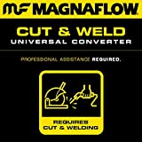 MagnaFlow 50003 Universal Catalytic Converter (Non CARB Compliant)