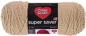 Red Heart  Super Saver Economy Yarn, Buff